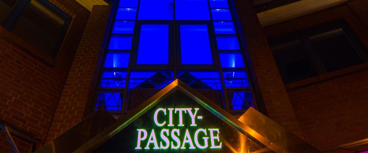 Citypassage eingang